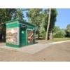 Kép 3/5 - Art Relic Professional, Téglalap alapú, automatikus működtetésű köztéri illemhely, padló-, és wc mosással