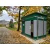 Kép 2/5 - Art Relic Professional, Téglalap alapú, automatikus működtetésű köztéri illemhely, padló-, és wc mosással