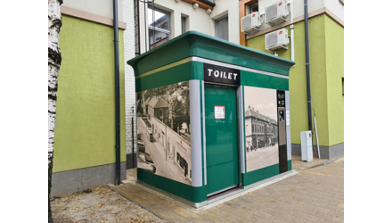 Automatikus nyilvános WC új generációja